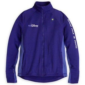 Performance jacket by champion Run Disney purple